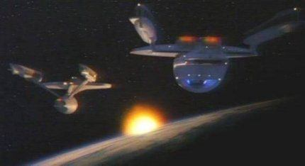 Szene aus Star Trek VI: The Undiscovered Country